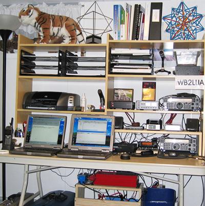 WB2LUA's Anateur Radio Stations
